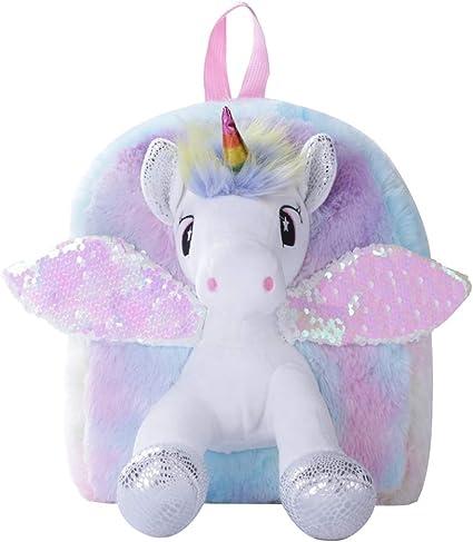 Amazon.com: Mochila infantil, regalo de unicornio para niñas ...