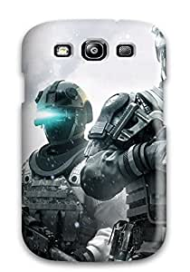 Heidiy Wattsiez's Shop 2583111K58053275 High Impact Dirt/shock Proof Case Cover For Galaxy S3 (tom Clancy Ghost Recon Wii)