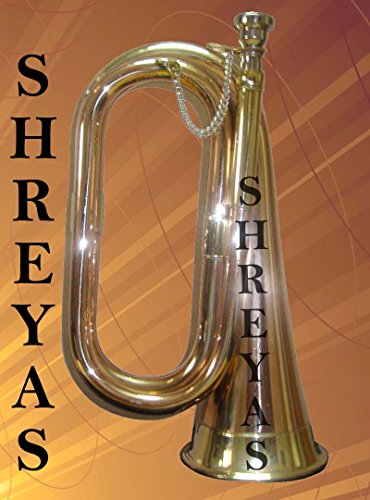 Army Scout Sea Cadet Bugle With Free Hard Case + Mouthpiece shry04 by SHREYAS