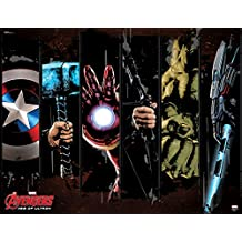 Trend Setters Avengers The Age of Ultron Weapons Mighty Print Wall Art