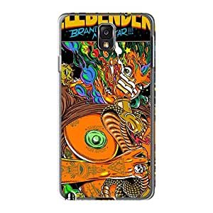 Samsung Galaxy Note3 Xpn1519KnGA Allow Personal Design Stylish Green Day Pictures Protector Hard Phone Cover -AaronBlanchette