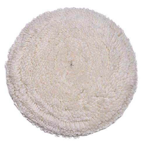 Gracefur Hook and Loop 100% Wool Polishing Buffing Pad 7
