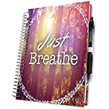 Daily Planner 2018-2019 5x8 Hardcover - 15 Months Dated April 2018 to June 2019 - Spiral Hardbound Planner - Pages in Color - Weekly Monthly Academic Calendar Year | by Tools4Wisdom Planners