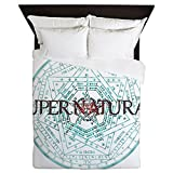 CafePress Supernatural 52 - Queen Duvet Cover, Printed Comforter Cover, Unique Bedding, Microfiber