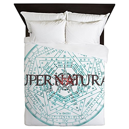 CafePress Supernatural 52 - Queen Duvet Cover, Printed Comforter Cover, Unique Bedding, Microfiber by CafePress