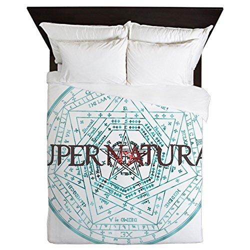 CafePress Supernatural 52 - Queen Duvet Cover, Printed Comforter Cover, Unique Bedding, Microfiber by CafePress