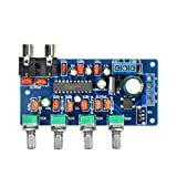 Aiyima LM1036N HIFI Tone Control Board Stereo Audio Amplifier Board DC 12V Amplifier Board AC/DC