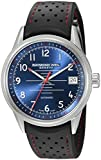 Raymond Weil Men's 'Freelancer' Swiss Automatic Stainless Steel and Rubber Casual Watch, Color:Black (Model: 2754-SR-05500)