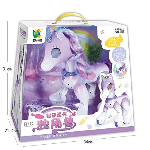 Unicorn Electric Smart Horse Remote Control Unicorn Touch Induction Electronic Pet by Carrie-ful (Image #1)