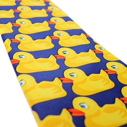 Accessories Tie Necktie Duck Big funie Cartoon Business Duck Men's Suit Yellow Neckwear nOzqB