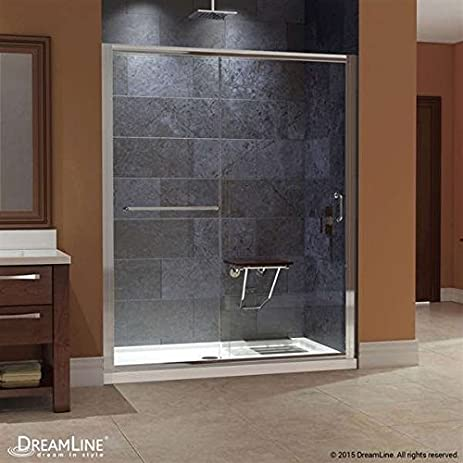 Gentil DreamLine Infinity Z Frameless Sliding Shower Door U0026 SlimLine 30u0026quot; X  60u0026quot; Single