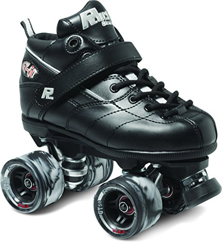 Sure-Grip Rock GT-50 Roller Skate Package - Black sz Mens 15 - Metal Roller Skates