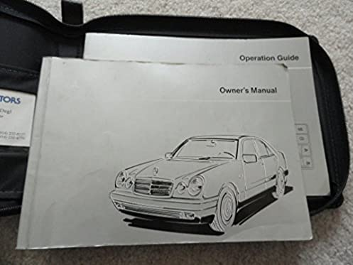 1996 mercedes e 300 diesel e320 owners manual mercedes amazon com rh amazon com 1994 Mercedes E320 1996 mercedes benz e320 repair manual