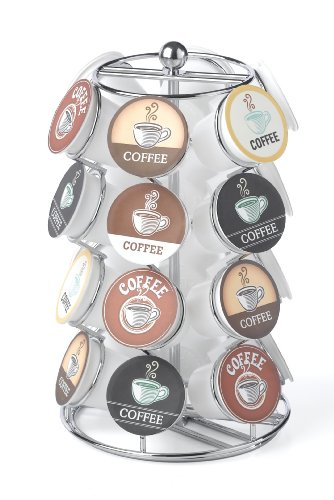 24'h Swivel Counter - Nifty 5724 Coffee Pod Carousel, Holds 24 K-Cup Packs