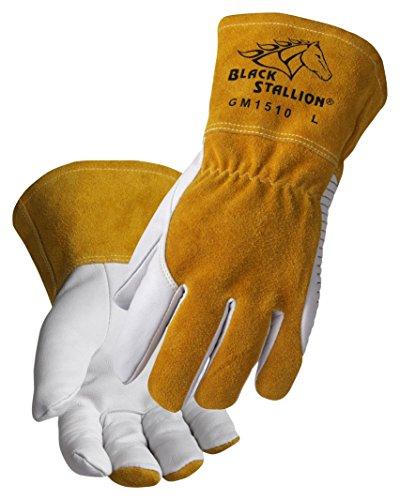 Black Stallion REVCO - GM1510 - MEDIUM Revco BSX Comfortable and High-Dexterity MIG/TIG Welding Glove, Medium by Black Stallion (Image #1)