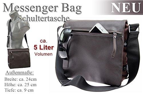 Dokumententasche Kuriertasche Schultertasche Citybag Flugbegleiter Umhängetasche Business Messenger Bag Tasche