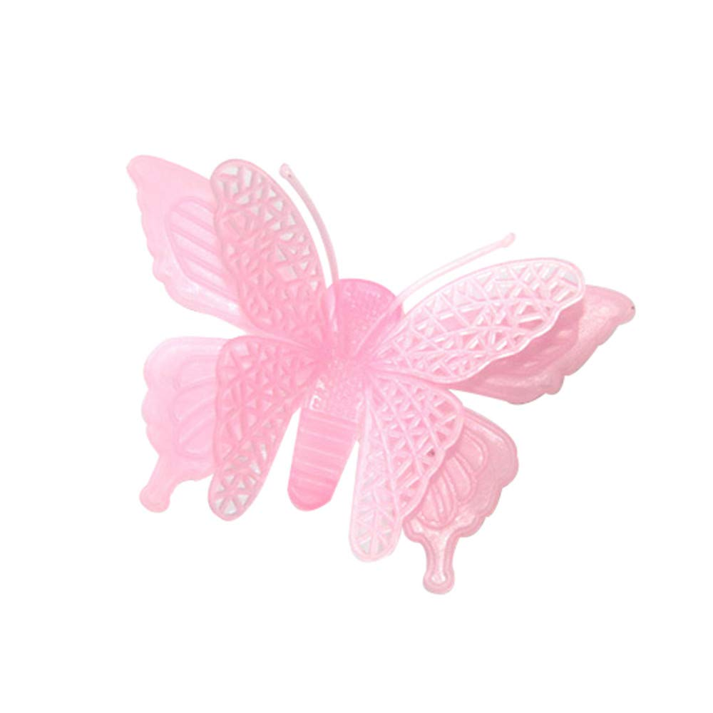 JiaMeng Decoración del hogar 6PC Luminous Butterflies Skin Wall Sticker Decorativo Resplandor en el Arte Oscuro: Amazon.es: Hogar