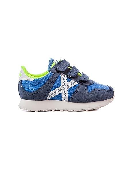 Munich Mini Massana VCO 71 - Zapatillas Niño Azul Talla 32: Amazon.es: Zapatos y complementos