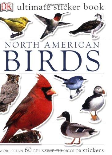 Price comparison product image Ultimate Sticker Book: North American Birds (Ultimate Sticker Books)