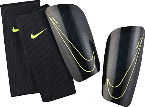 NIKE Mercurial Lite Shin Guard [BLACK] - Soccer Shin Guard