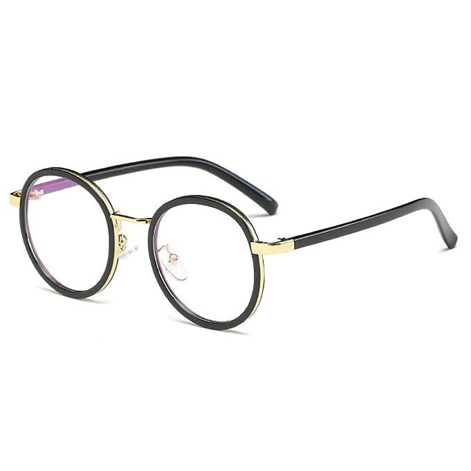Fantia Children Glasses Frame 8-14 Years Old For Gilrs Round Retro Kids  Eyeglass
