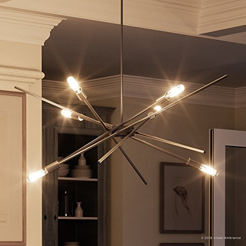 Luxury Modern Chandelier, Medium Size: 10.5