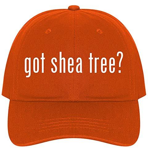 The Town Butler got shea Tree? - A Nice Comfortable Adjustable Dad Hat Cap, Orange