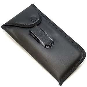 Amazon.com: Mens Slip-In Soft Eyeglass Case w/ Belt Clip