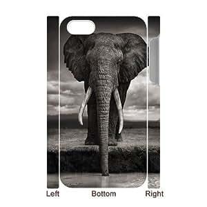 VNCASE Elephant Phone Case For Iphone 5C [Pattern-1]