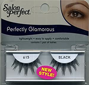 Salon perfect perfectly glamorous 615 black for Salon 615 lashes