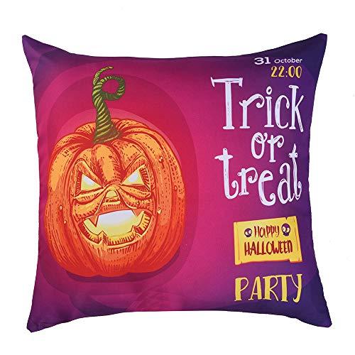 Lowprofile Pumpkin Printed Pillowcase Polyester Sofa Car Seat Cover Home DecorationHidden Zipper Closure45X45cm