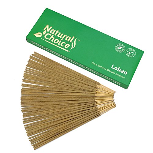 Frankincense (Loban) Incense sticks 100gm - Made from scratch - No (Spice Incense Coconut)