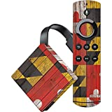 Countries of the World Fire TV Skin - Maryland Flag Dark Wood | Skinit Lifestyle Skin