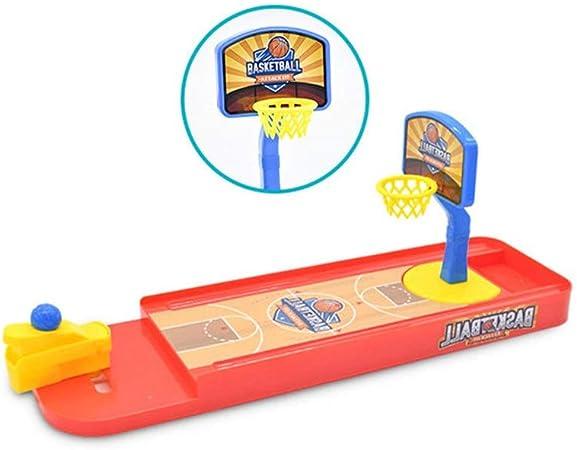 ASDFGG-toy Mesa de Billar Plegable Plegable portátil de Mesa de Baloncesto Mini Baloncesto de Bolos catapulta de Juguete Rana de Bolos de Mesa Deportes Juguetes educativos para niños: Amazon.es: Hogar