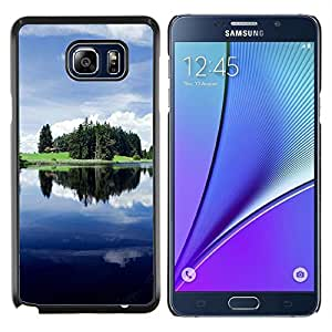 YiPhone /// Prima de resorte delgada de la cubierta del caso de Shell Armor - Sunset Beautiful Nature 46 - Samsung Galaxy Note 5 5th N9200