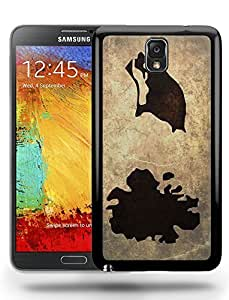 Antigua and Barbuda National Vintage Country Landscape Atlas Map Phone Case Cover Designs for Samsung Galaxy Note 3