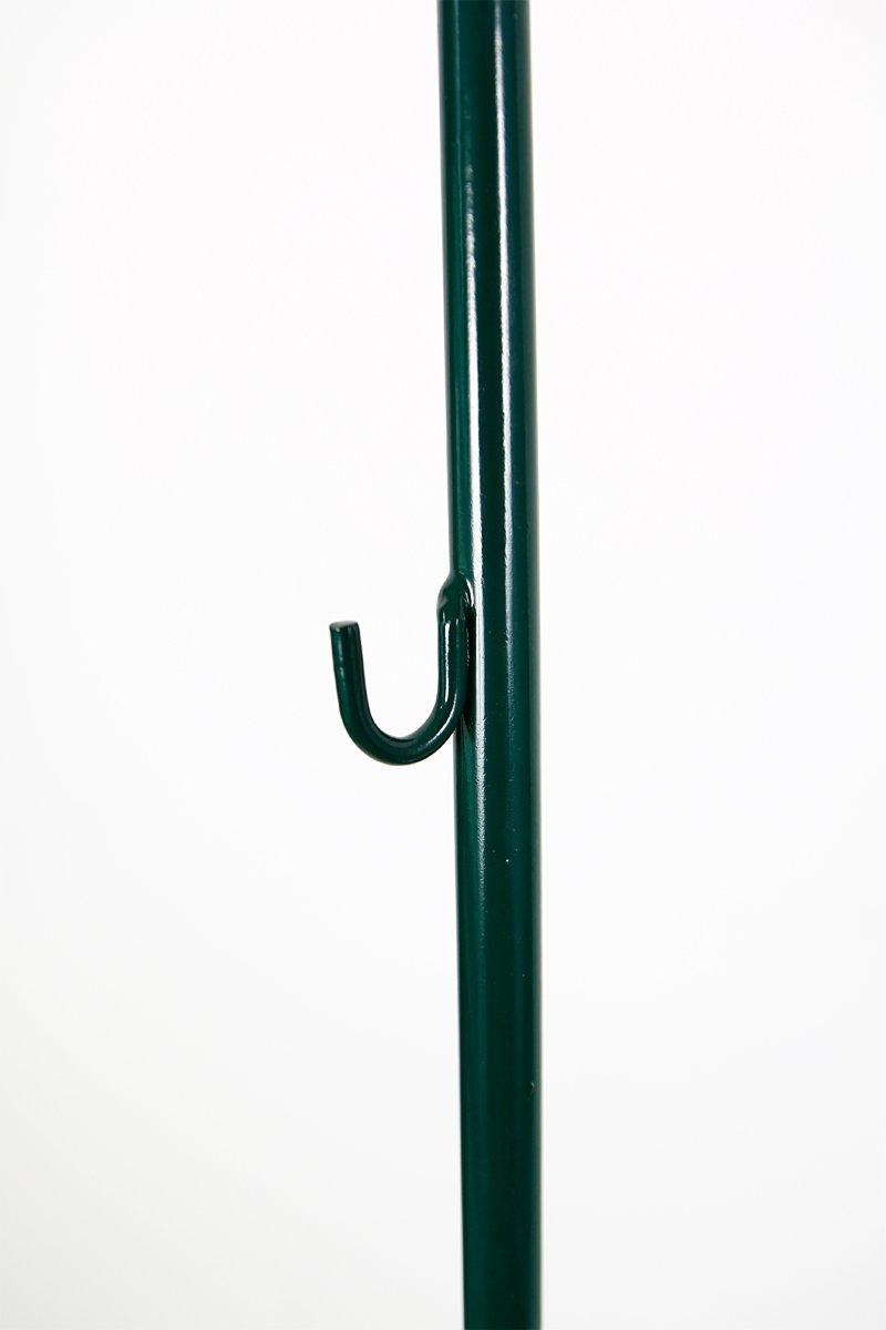 10 Stück Zaunpfähle f. Sechseckgeflecht, grün, Länge: 140 cm ...