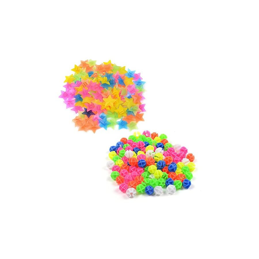 KLOUD City Assorted Colors Bike Bicycle Wheel Spokes Plastic Clip Bead/Spoke Derections