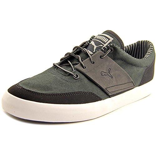 Puma El Ace 4 rayas zapatilla de deporte Black-Limestone Gray