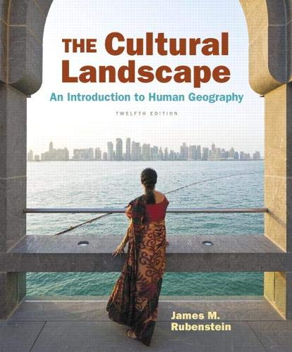 Cultural Landscape The An Introduction To Human Geography