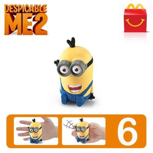 Despicable Me 2 #6 McDonald's Happy Meal Toy Minion - Tim...