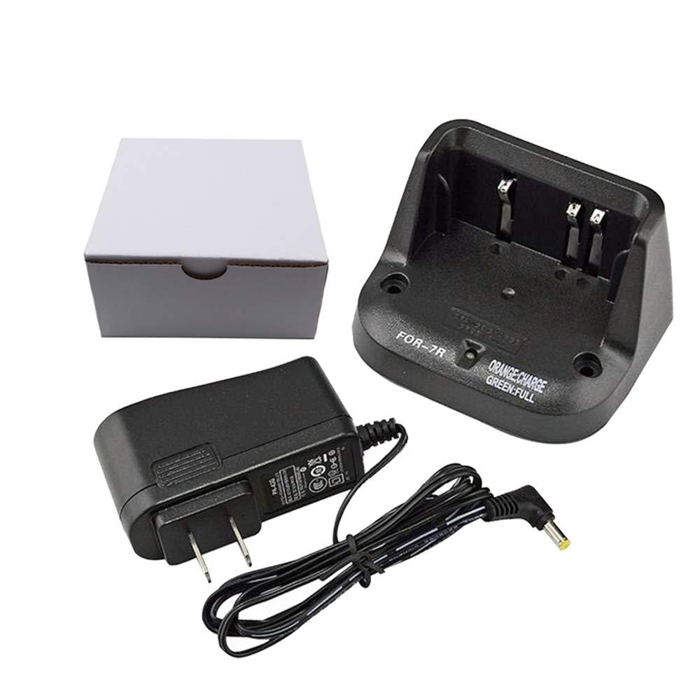 CD-15A Charger for YAESU VX-5 VX-5R VX-6 VX-6R VX-7R VXA-700 FNB-58Li FNB-80Li Standard Horizon HX460S HX471S