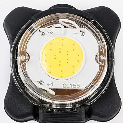 SLCSL de USB luz Trasera Recargables, aleación de Aluminio, luz de Advertencia Mountain Bike