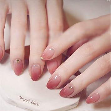 BloomingBoom 24 unidades de 12 tamaños de uñas postizas, acrílicas ...