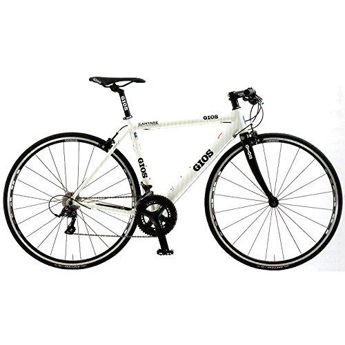 GIOS(ジオス) クロスバイク CANTARE SORA WHITE 500mm B076BM6ZVC