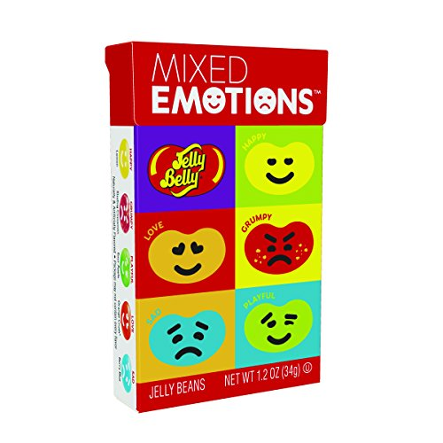 Jelly Belly Mixed Emotions Jelly Beans, Assorted Flavors, 1.