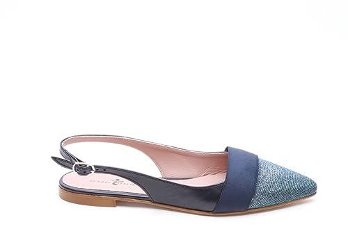 molto carino ab67d d9c91 Scarpe italiane chanel basse blu, 33: Amazon.it: Scarpe e borse