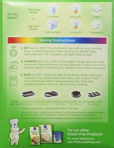 Amazon Pillsbury Funfetti Gluten Free Premium Cake Cupcake