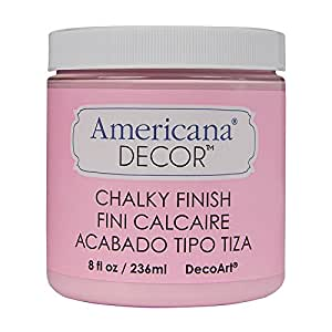 Deco Art ADC-05 Americana Chalky Finish Paint, 8-Ounce, Innocence