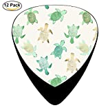 turtles Guitar Picks Celluloid 12 Pack Complete Set ONE_SIZE